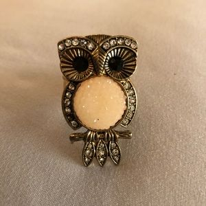 Jewelry - Adorable owl ring -stretchy